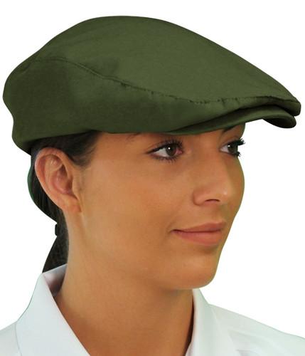 Golf Cap - 'Par 3' Ladies Olive Microfiber