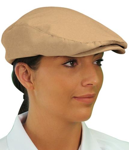 Golf Cap - 'Par 3' Ladies Khaki Microfiber
