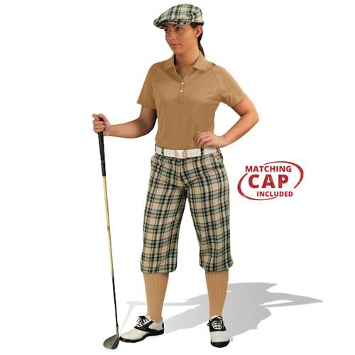 Golf Outfit Women - Khaki Stewart & Khaki