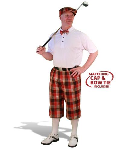 Mens Tuscaloosa & White Golf Outfit