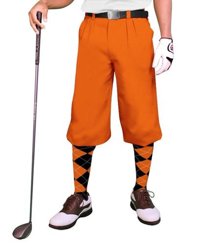 'Par 3' Mens Microfiber Golf Knickers
