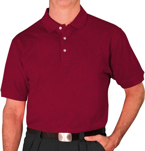 Mens Clubhouse Golf Shirt - Maroon