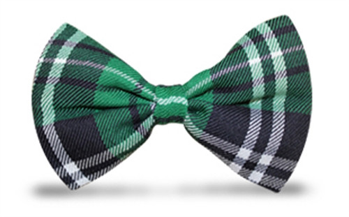 'Par 5' Plaid 'Limited' Bow Tie - Celtic