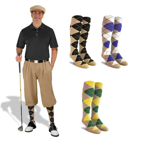 Golf Knickers - Khaki Albatross Outfit