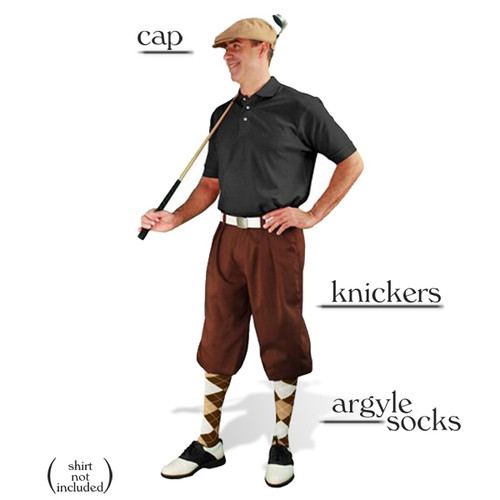 Golf Knickers - Brown Start-in-Style Outfit