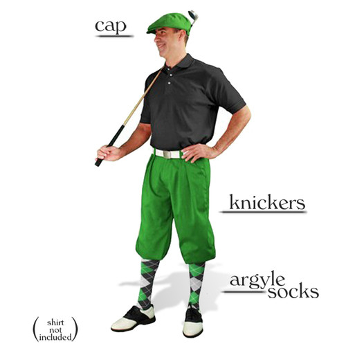 Golf Knickers - Lime Start-in-Style Outfit