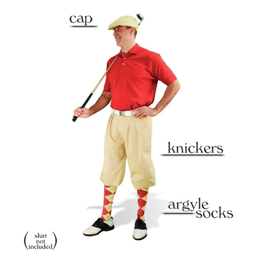 Golf Knickers - Natural Start-in-Style Outfit