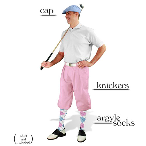 Golf Knickers - Pink Start-in-Style Outfit