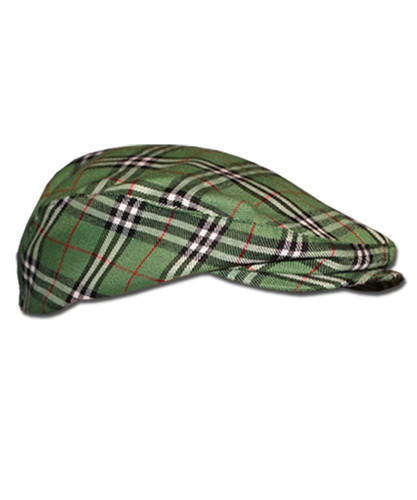 Plaid Golf Cap - 'Par 5' Mens Limited Fairway
