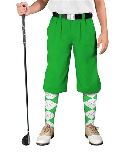 Golf Knickers - 'Par 3' Youth Microfiber