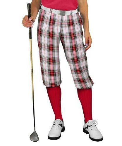Plaid Golf Knickers - 'Par 5' Ladies