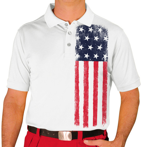 Mens Homeland Golf Shirt - United States