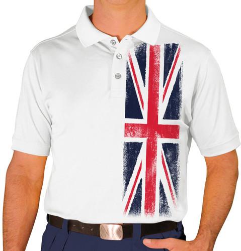 Mens Homeland Golf Shirt - United Kingdom