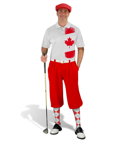 Golf Knickers - Canadian Homeland Outfit