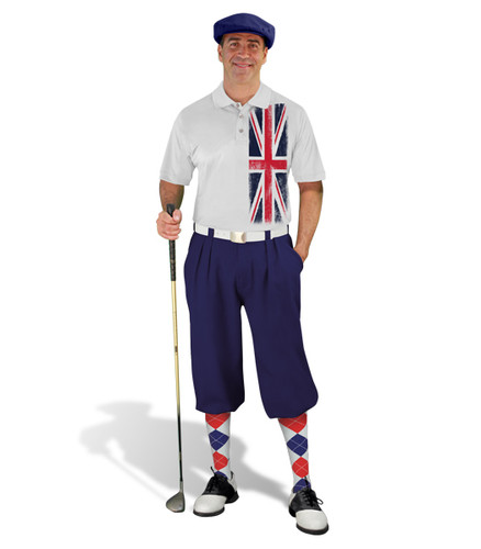Golf Knickers - British Homeland Outfit - Navy