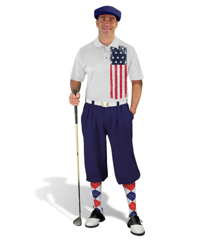Golf Knickers - American Homeland Outfit - Navy