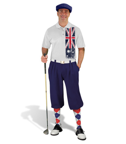 Golf Knickers - Australian Homeland Outfit - Navy