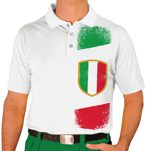Mens Homeland Golf Shirt - Italy