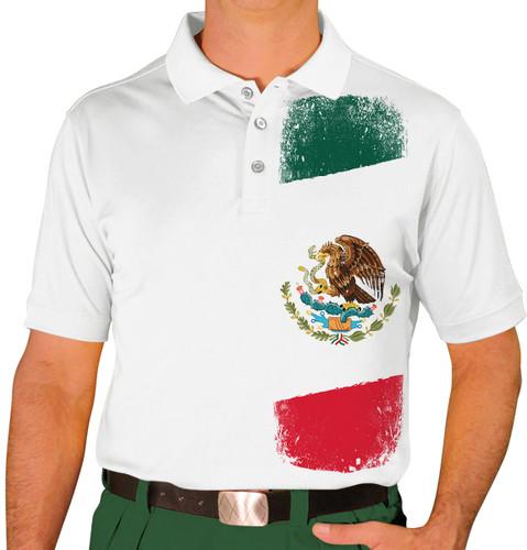 Mens Homeland Golf Shirt - Mexico