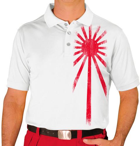 Mens Homeland Golf Shirt - Japan