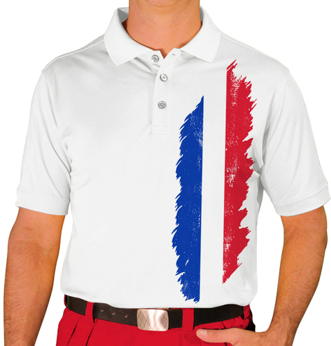 Mens Homeland Golf Shirt -  France