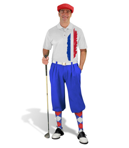 Golf Knickers - France Homeland Outfit - Royal
