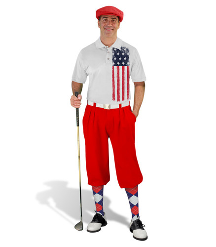 Golf Knickers - American Homeland Outfit - Red
