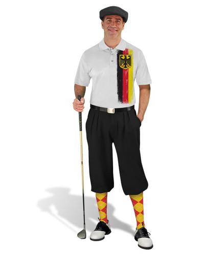 Golf Knickers - German Homeland Outfit - Black