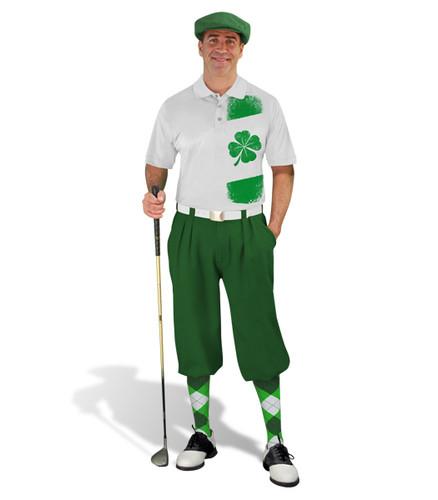 Golf Knickers - Irish Homeland Outfit - Dark Green