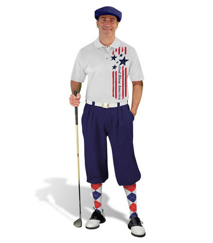 Golf Knickers - American Homeland Outfit - Bless - Navy