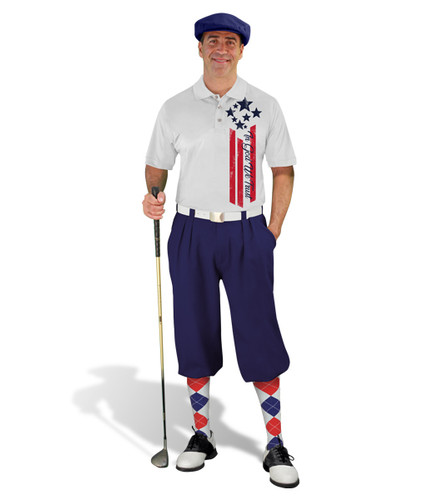 Golf Knickers - American Homeland Outfit - Trust - Navy
