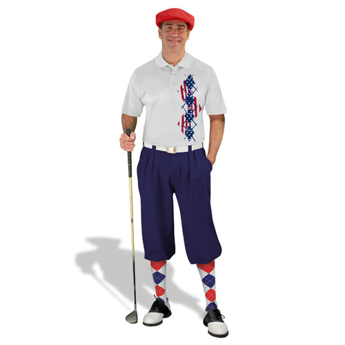 Golf Knickers - American Homeland Outfit - Argyle