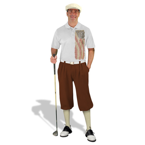 Golf Knickers - American Homeland Outfit - We The People - Brown