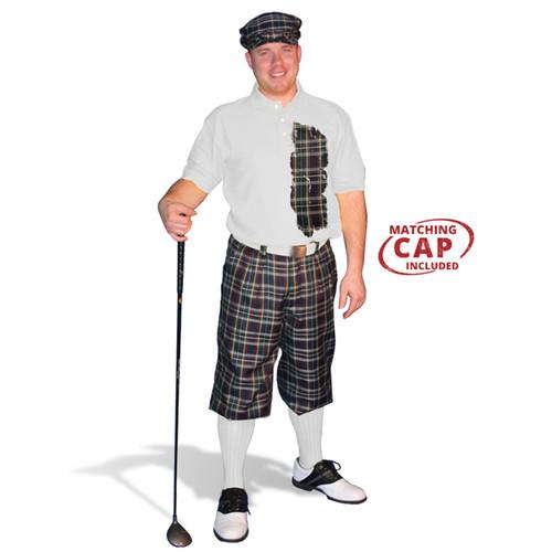 Mens Plaid² Lafayette Golf Outfit