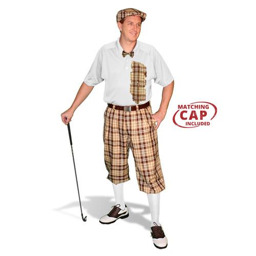 Mens Plaid² Naples Golf Outfit