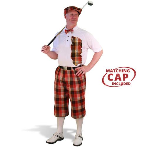 Mens Plaid² Tuscaloosa Golf Outfit