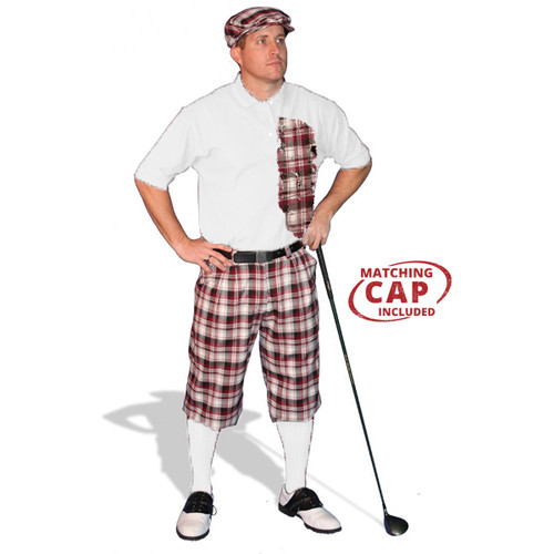 Mens Plaid² Tuscany Golf Outfit
