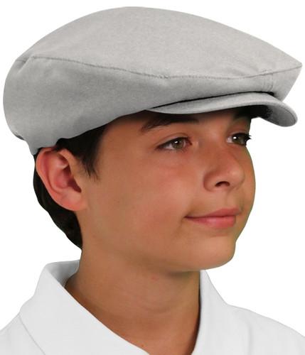 Golf Cap - 'Par 3' Youth Taupe Microfiber