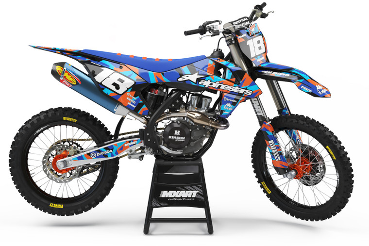 MIAMI Style KTM full graphics kit Prices from $129.90 - $169.90