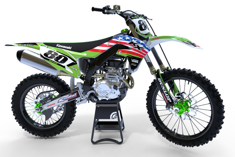 SWAT Style KAWASAKI full graphics kit Prices from $129.90 - $169.90