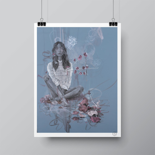 """The Beat of the Heart"" Limited-Edition Fine Art Print by Renata Santamarina"
