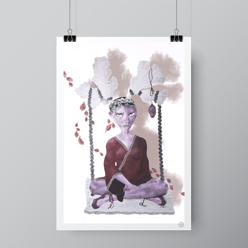 """The Creator"" Limited-Edition Fine Art Print by Renata Santamarina"