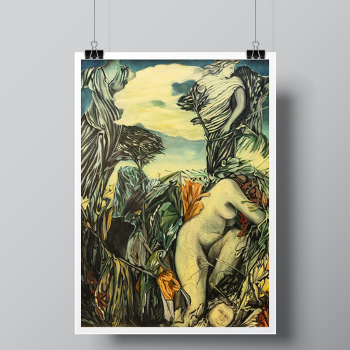 """Paradise Paradox"", Limited-Edition Hand-Signed Fine Art Print by Beatrix Ost"