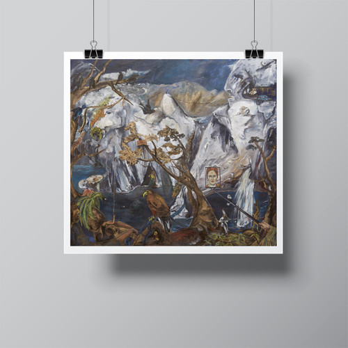 """Omnivore's Natural History"", Limited-Edition Hand-Signed Fine Art Print by Beatrix Ost"