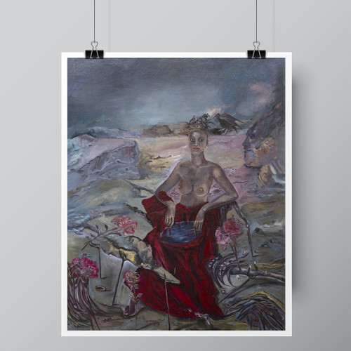 """Aphrodite's Well"", Limited-Edition Hand-Signed Fine Art Print by Beatrix Ost"