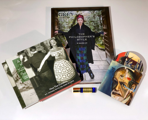 Hand-Signed Product Bundle: Illuminations & Illusions - Books, CD & Rose Oil by Beatrix Ost