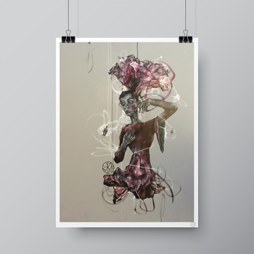 """Como es Arriba es Abajo (What is Above is Below)"" Limited-Edition Fine Art Print by Renata Santamarina"
