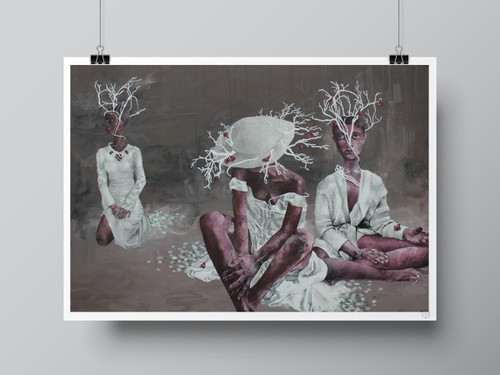 """Nymphs"" Limited-Edition Fine Art Print by Renata Santamarina"