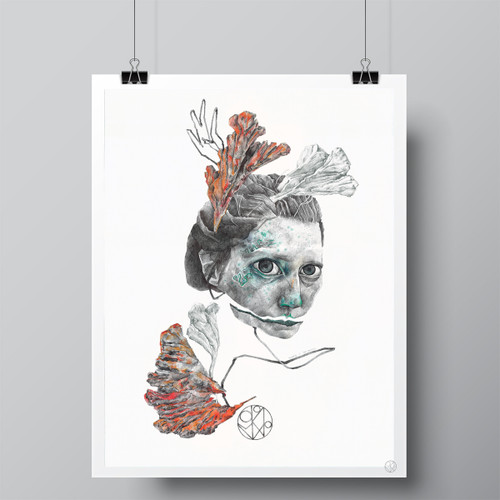 """Ficus petiolaris"" Limited-Edition Fine Art Print by Renata Santamarina"