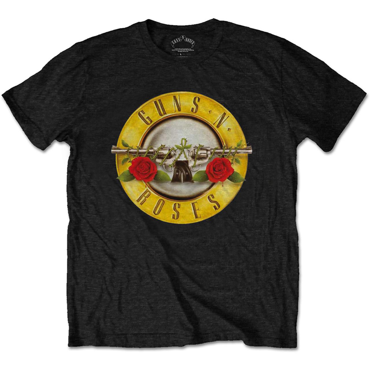 ea0e7e229 Guns N Roses Classic Logo Black T-Shirt